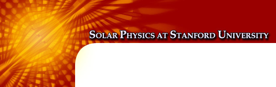 Solar Physics at Stanford University