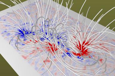 Gallery : MHD simulation of solar corona and solar wind